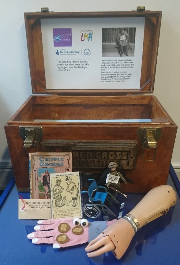Disability History Scotland Memory Chest.